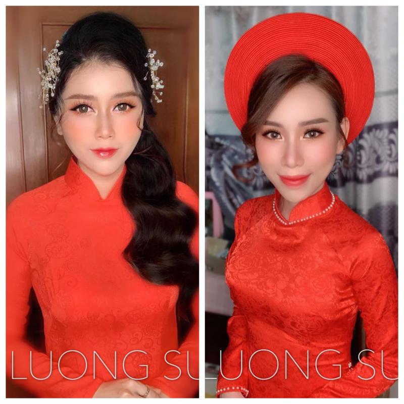 Lương Su makeup