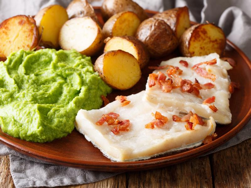 Lutefisk là một món đặc sản của Na Uy