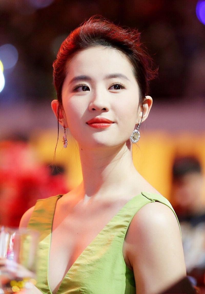 Nữ diễn viên Lưu Diệc Phi là tứ tiểu hoa đán của Trung Quốc năm 2009
