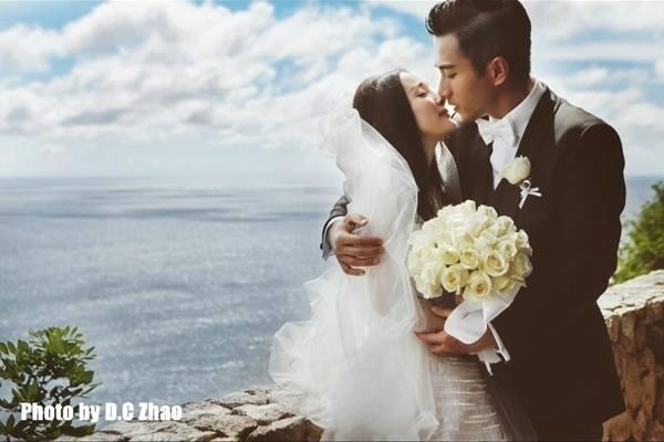 Ảnh cưới của cặp đôi Lưu Khải Uy - Dương Mịch
