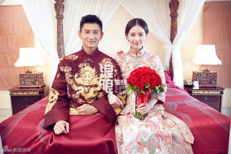 Lưu Thi Thi xinh đẹp trong bộ váy cưới
