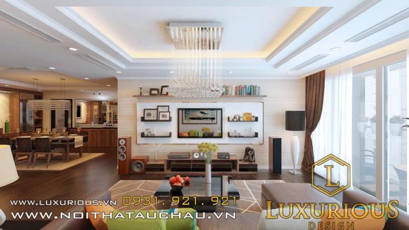 Thiết kế nội thất chung cư là một trong những dịch vụ của Luxurious Design được khách hàng đánh giá cao về tính thẩm mỹ, tiện ích, phù hợp với cá tính của khách hàng.