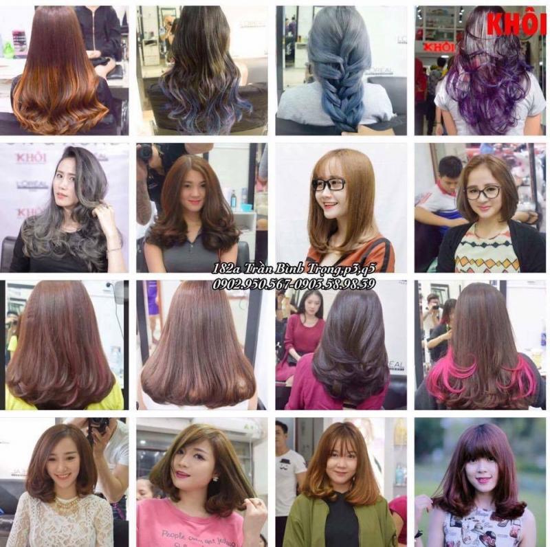 Những mẫu tóc của Salon Khôi