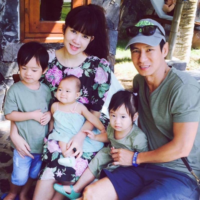 Gia đình hạnh phúc của Lý Hải - Minh Hà