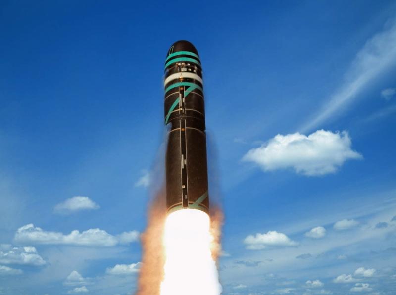 Tên lửa  M51 SLBM của Pháp.