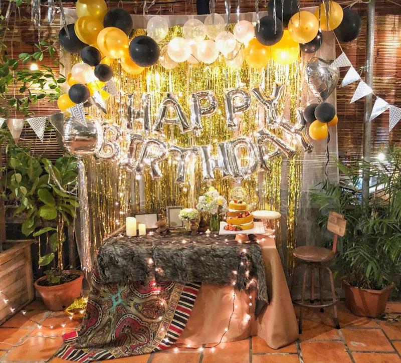 Phong cách của Ma Famille Cafeteria Cần Thơ trang trí cho một buổi tiệc