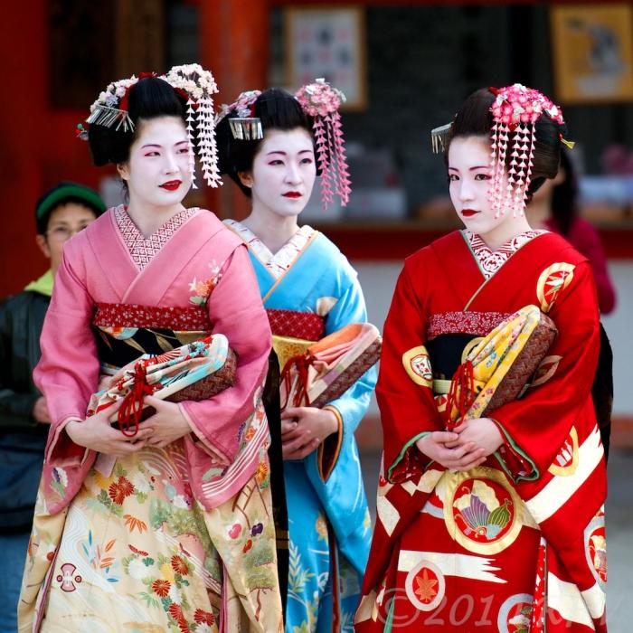 Để trở thành một Geisha, nhiều cô gái phải đến trung tâm đào tạo từ nhỏ