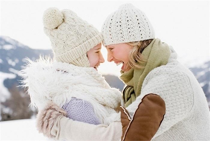 Mặc nhiều lớp áo để giữ ấm cơ thể