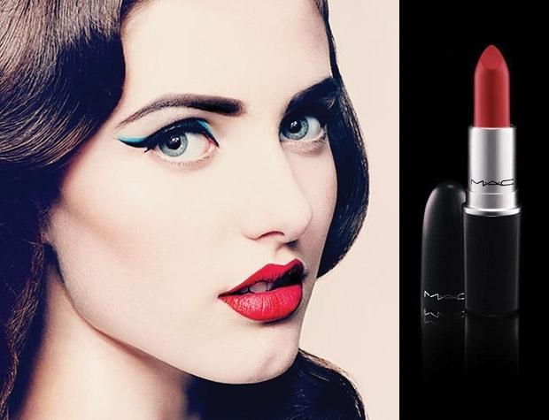 MAC Retro Matte Lipstick (màu số 04 đỏ ruby)