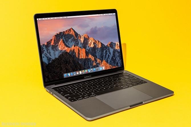 Macbook Pro mới bị
