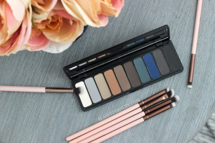 Bảng phấn mắt Mad for Holly Smokes Palette - E.L.F