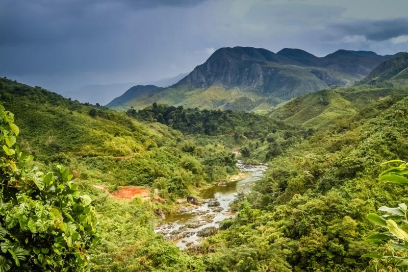 Đảo Madagasca nổi tiếng.