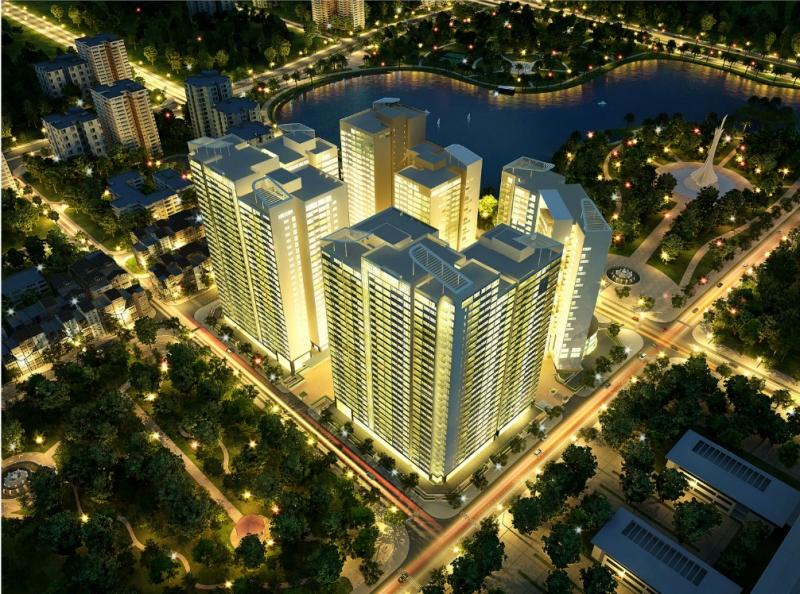 Phối cảnh dự án Madarin Garden