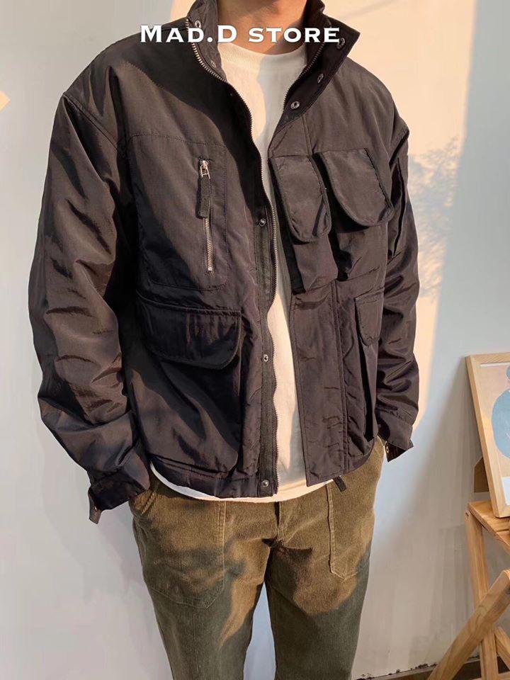 Áo khoác ngoài dễ mặc và phối đồ