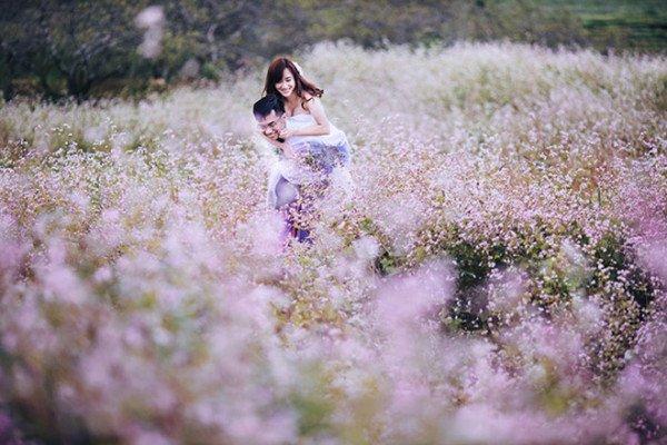 Ảnh cưới đẹp mộng mơ tại Mai Châu, Hòa Bình