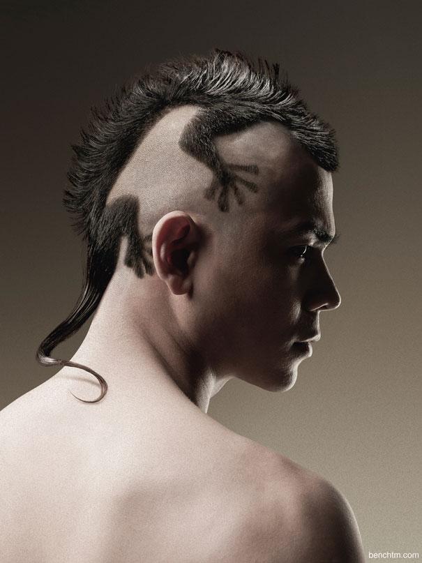 Mái tóc hình động vật