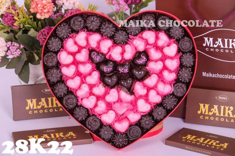 Chocolate ở cửa hàng Maika