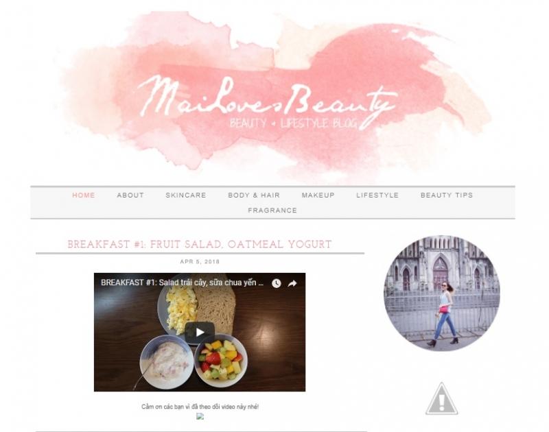 Trang web chính thức của Mailovesbeauty