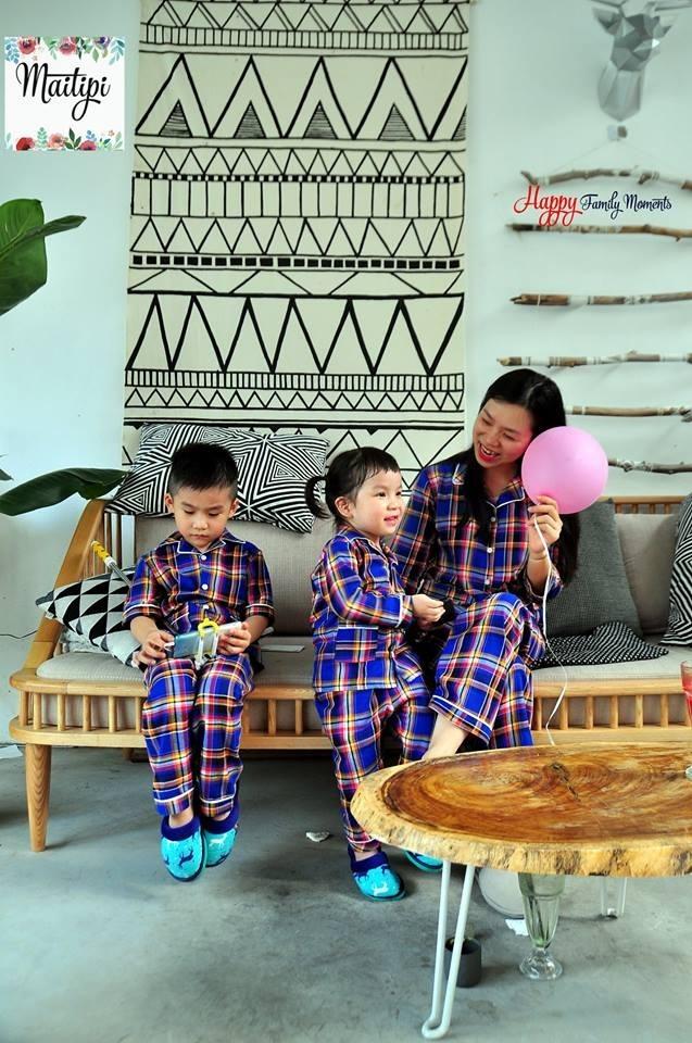 Pijama đáng yêu cho cả gia đình