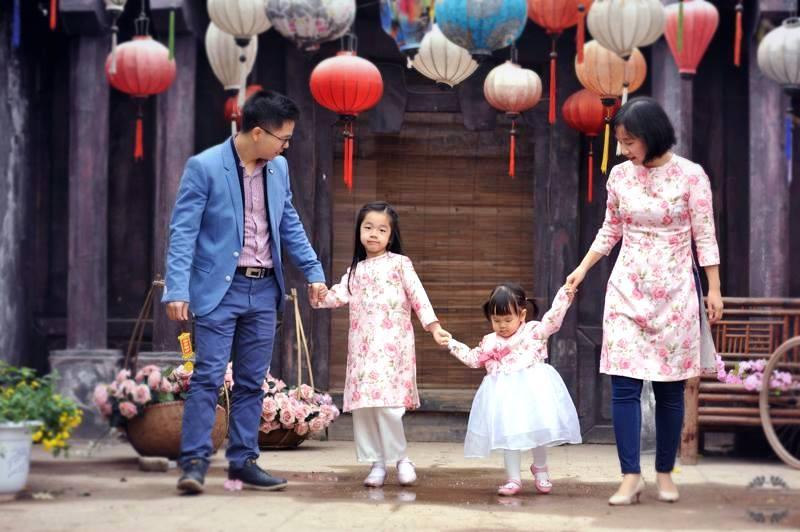 Maitipi chuyên áo dài cách tân cho mẹ và bé