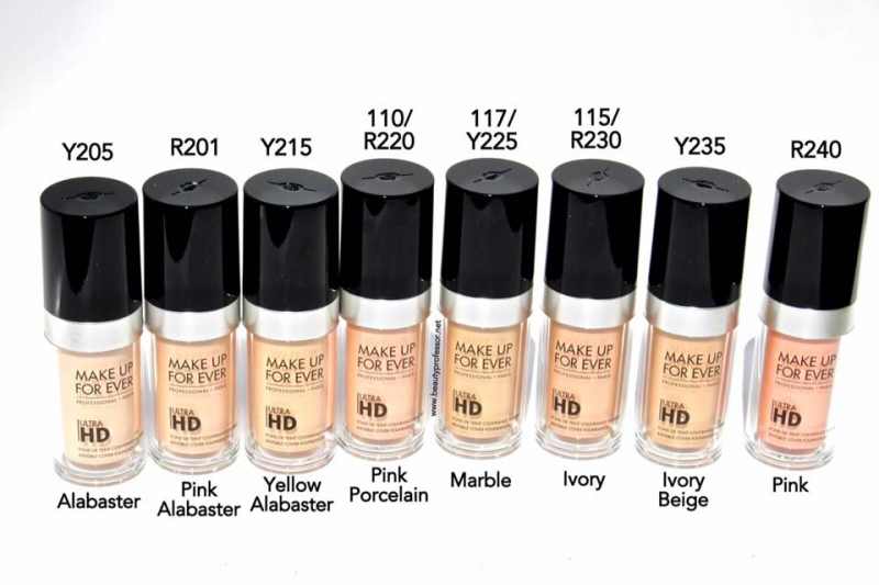 Make Up For Ever Utral HD Foundation