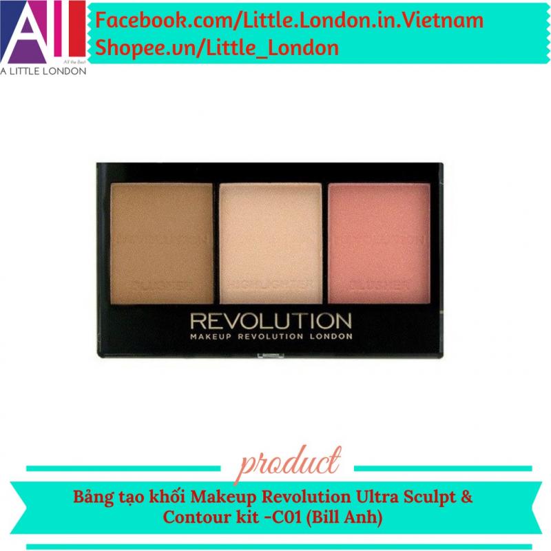 Bảng tạo khối Makeup Revolution Ultra Contour kit