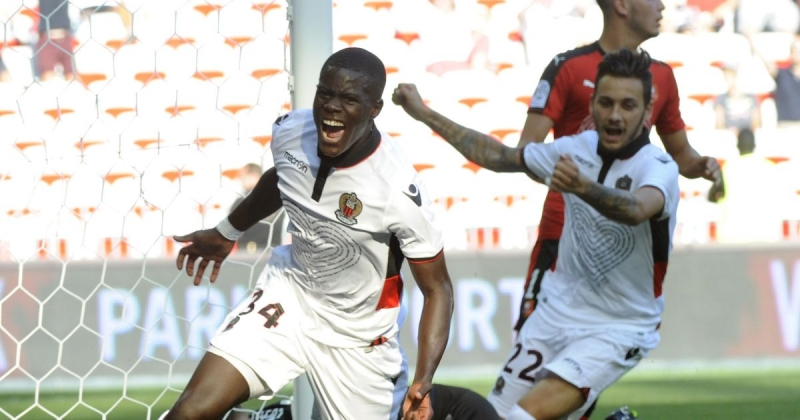 Malang Sarr đã ghi bàn ở Ligue mùa này
