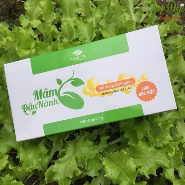 Sản phẩm mầm đậu nành collagen Linh Spa