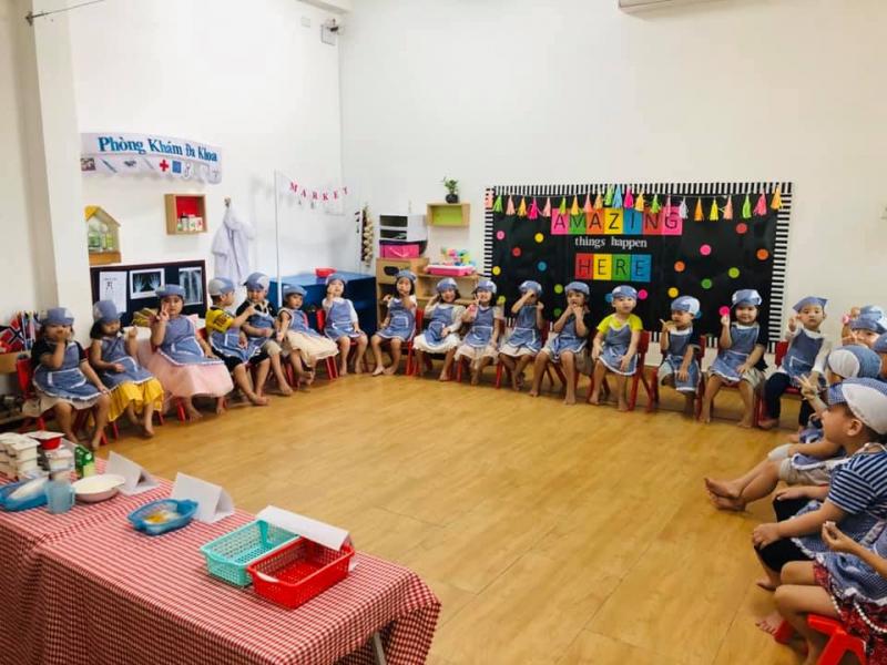 Trường Mầm non Học viên Trẻ Thơ