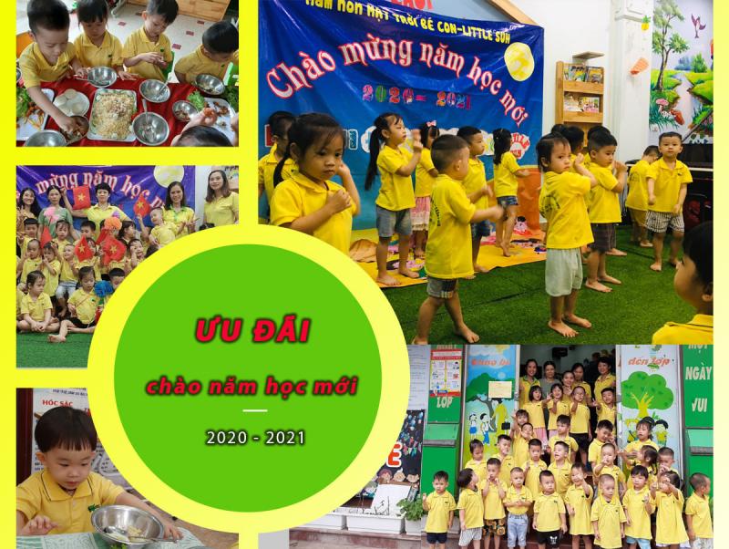 Mầm non LittleSun - Trường mầm non tư thục Mặt Trời Bé Con