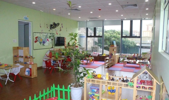 Phòng học đầy đủ tiện nghi