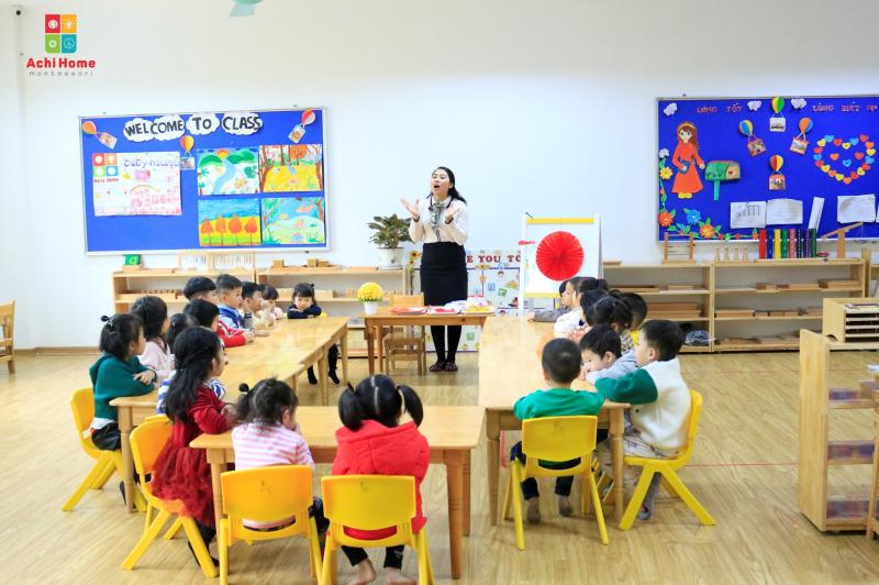 Mầm non quốc tế Achi Home Montessori