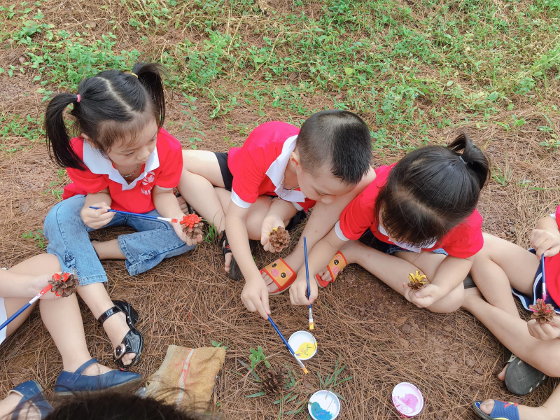 Mầm non Sơn Ca là địa chỉ nổi tiếng về chất lượng giảng dạy ở Quảng Ninh.