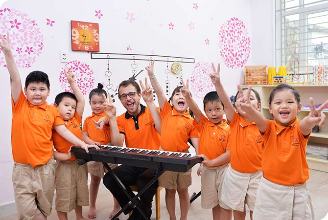 Mầm non Song ngữ Quốc tế SuperKids