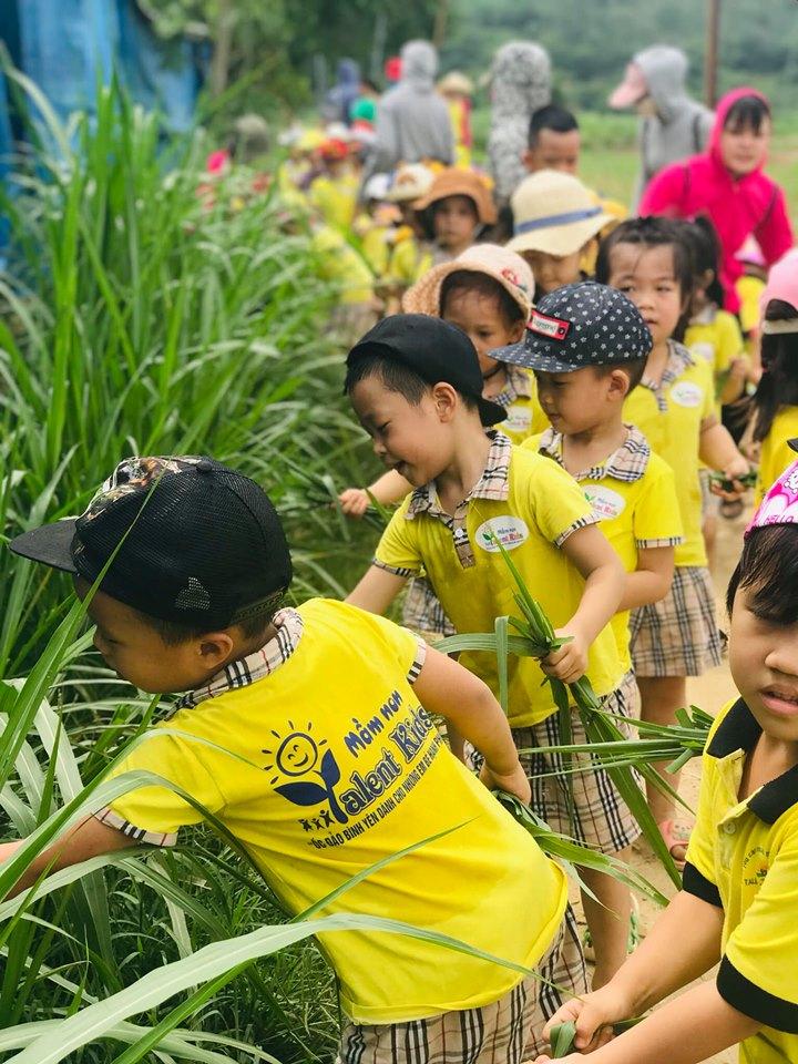 Trẻ được tham gia các hoạt động khám phá thế giới xung quanh