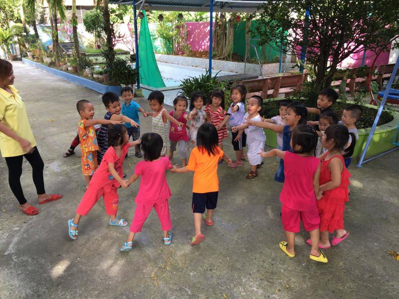 Mầm non Trăng Non là gợi ý khi mẹ muốn kiếm tìm trường học cho bé ở Bạc Liêu.