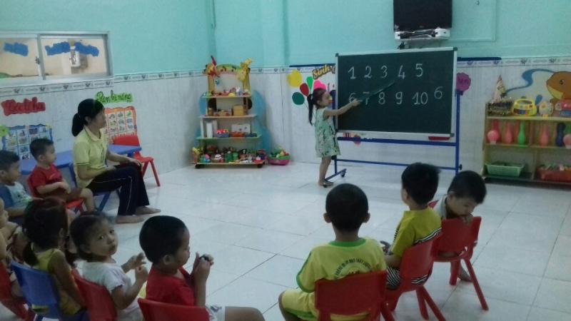 Trẻ được giáo dục để phát triển toàn diện