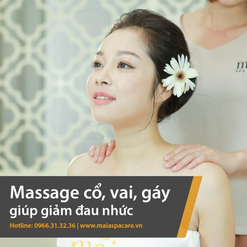 Quy trình Massage body tại Mama Maia Spa