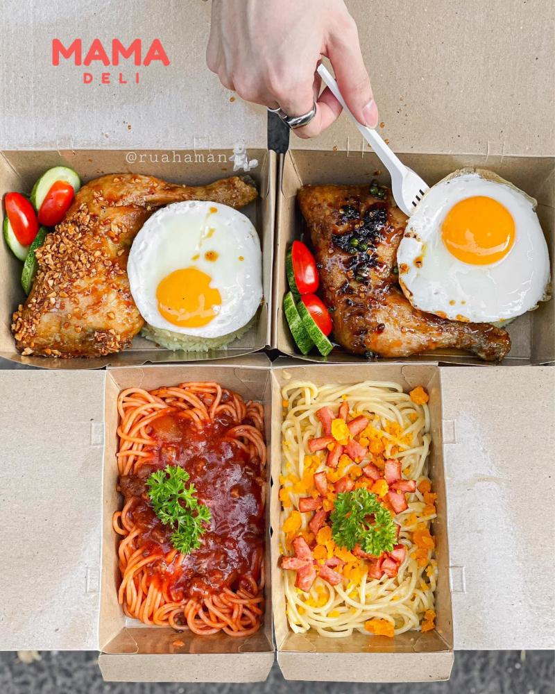 Mamadeli - Cơm gà & Mì ý
