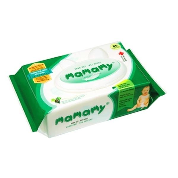 Là sản phẩm giấy ướt chuyên dùng cho trẻ sơ sinh, Mamamy có bề mặt mịn màng, đảm bảo an toàn với trẻ sơ sinh và trẻ nhỏ.