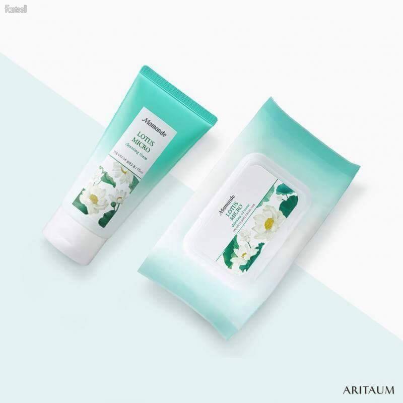 Mamonde Lotus Micro Cleansing/ Mask to Foam.