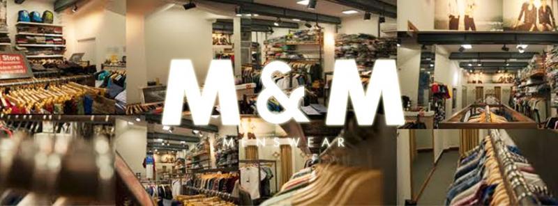 Không gian rộng rãi, địa điểm dễ tìm là một điểm mạnh của M&M store