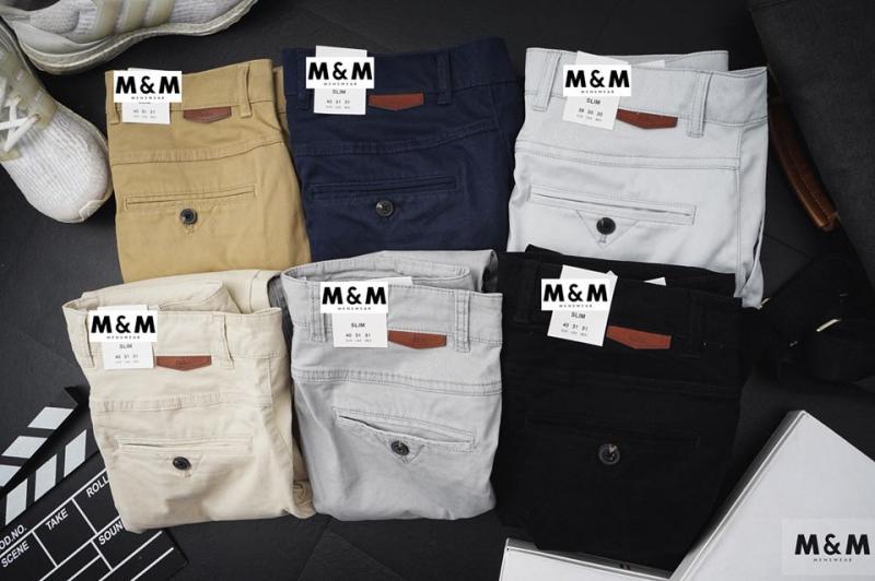 Mẫu quần Kaki ZR tại M&M Store