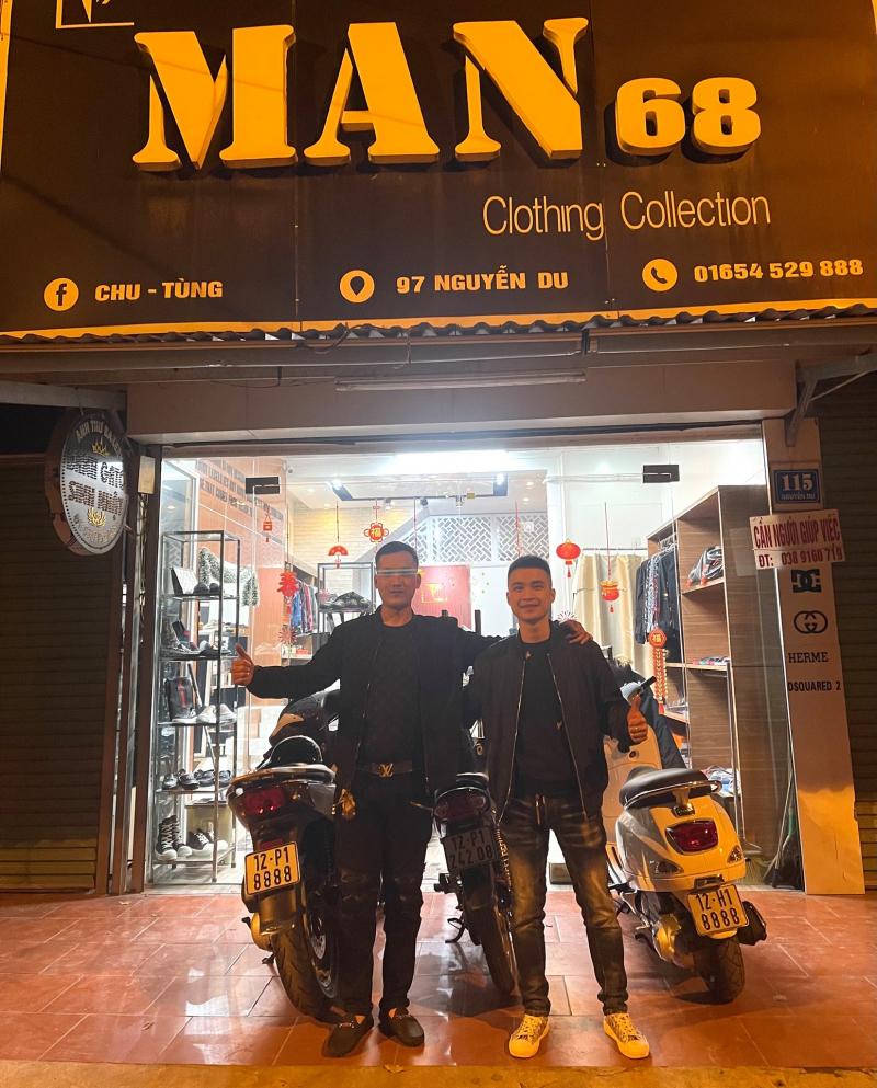Man 68 - Rams Barber Shop