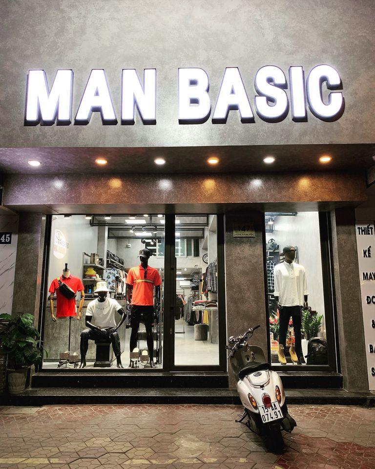 Man Basic là một Shop thời trang phù hợp với giới trẻ cá tính, trẻ trung và phá cách