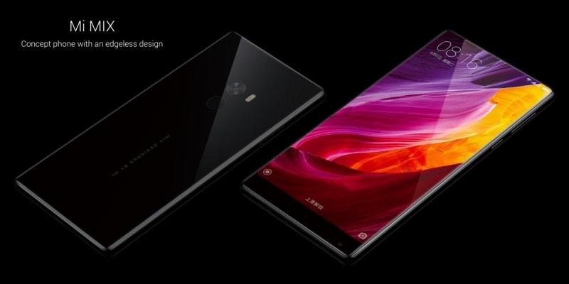 Xiaomi Mi Mix tràn viền gần như 100%