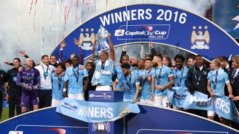 Manchester City vô địch năm 2016