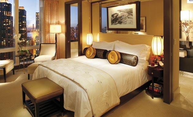 Khách sạn Mandarin Oriental có tầm nhìn thoáng đạt và rộng rãi