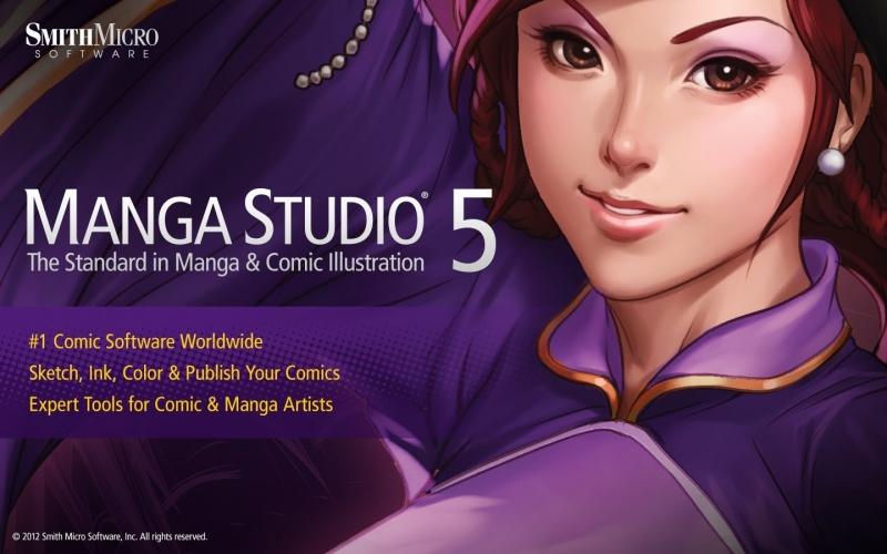 Phần mềm Manga Studio