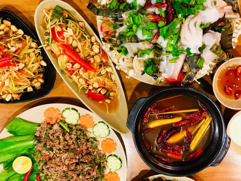 Mango Story Saigon sẽ được phục vụ tất cả các món ăn và tráng miệng cực ngon